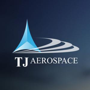 TJ Aerospace Logo Sticker